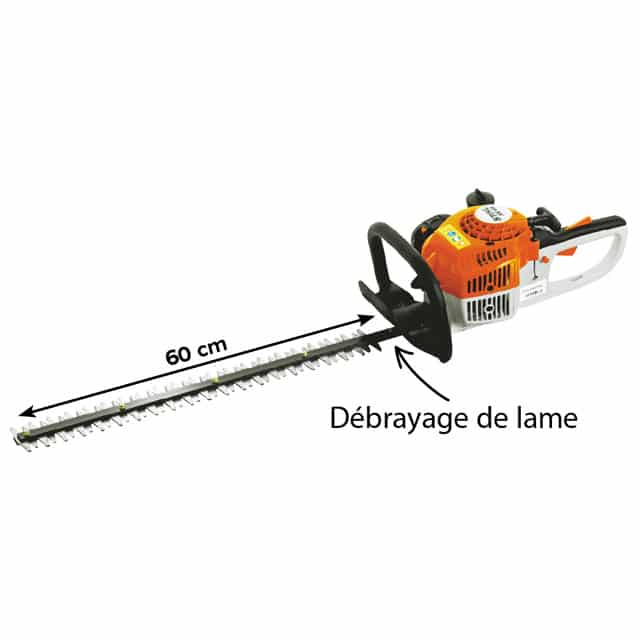 taille haies thermique stihl hs 45-600 - gk motoculture